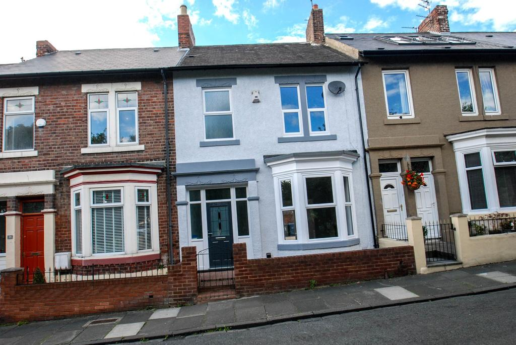 3 Bedrooms Semi Detached House for sale in Erskine Road, South Shields