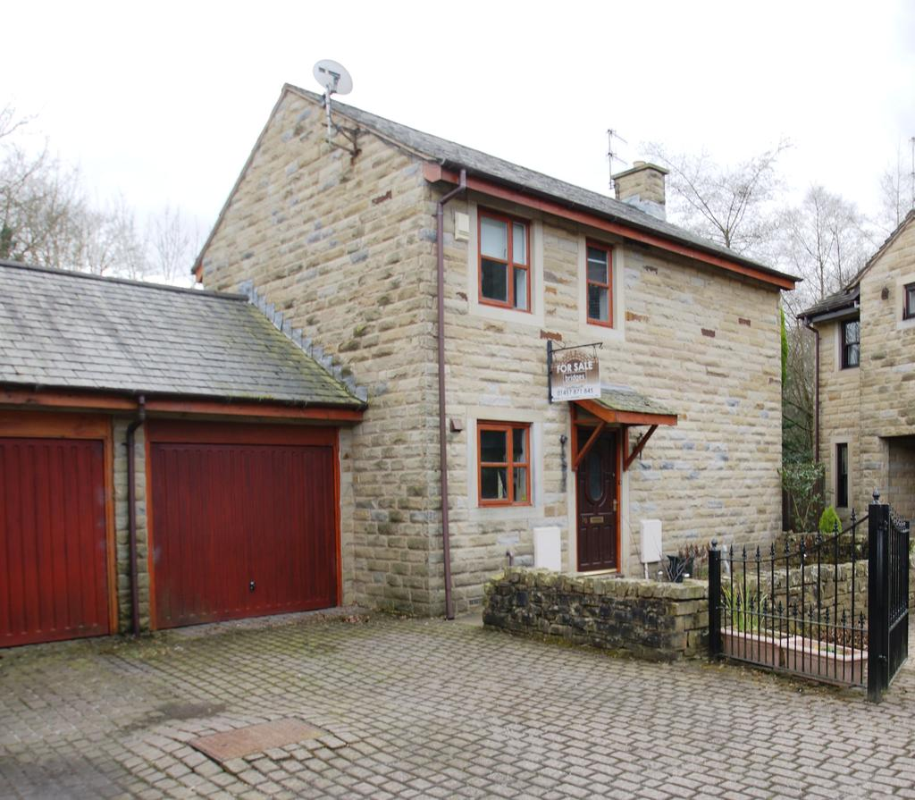 3 Bedrooms Link Detached House for sale in Kenworthy Gardens, Uppermill OL3
