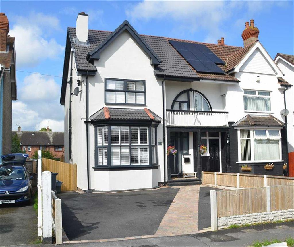 4 Bedrooms Semi Detached House for sale in Pooltown Road, Whitby, CH65