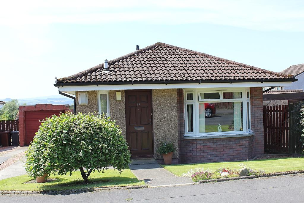 2 Bedrooms Detached Bungalow for sale in BROOMHILL CRESCENT, WHEATCROFT ESTATE, BONHILL, ALEXANDRIA G83