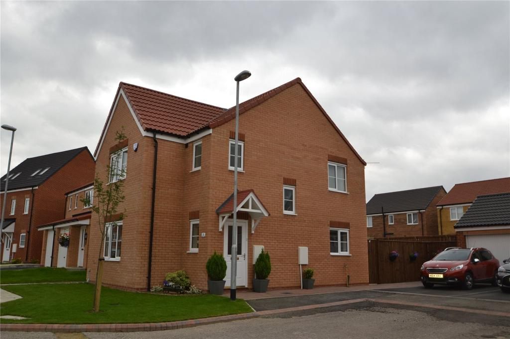 3 Bedrooms Detached House for sale in Rosebay Close, Shotton Colliery, Co.Durham, DH6