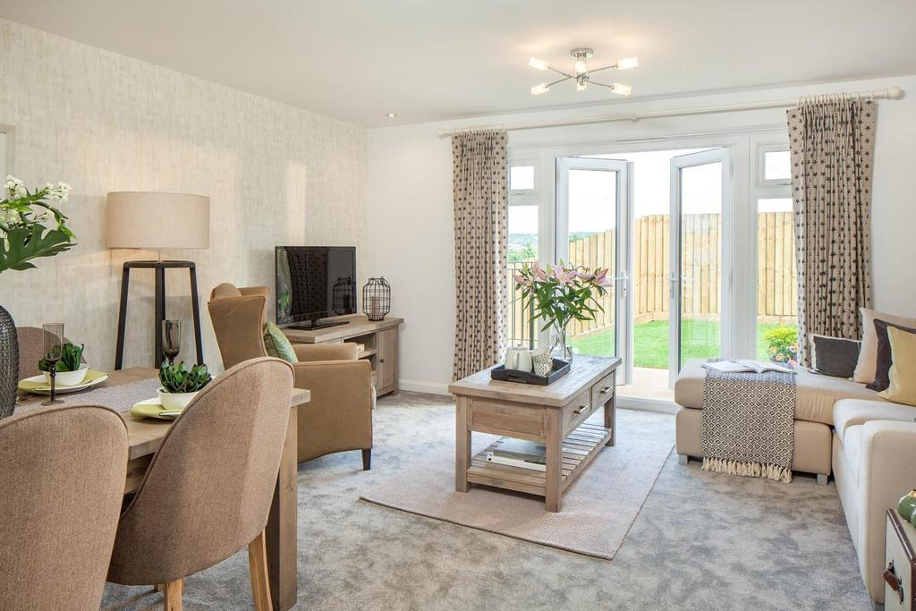 3 Bedrooms Semi Detached House for sale in Plot 178, Saxon Fields, Cullompton
