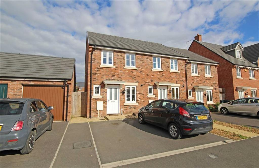 2 Bedrooms End Of Terrace House for sale in Washpool Road, Bishops Cleeve, Cheltenham, GL52