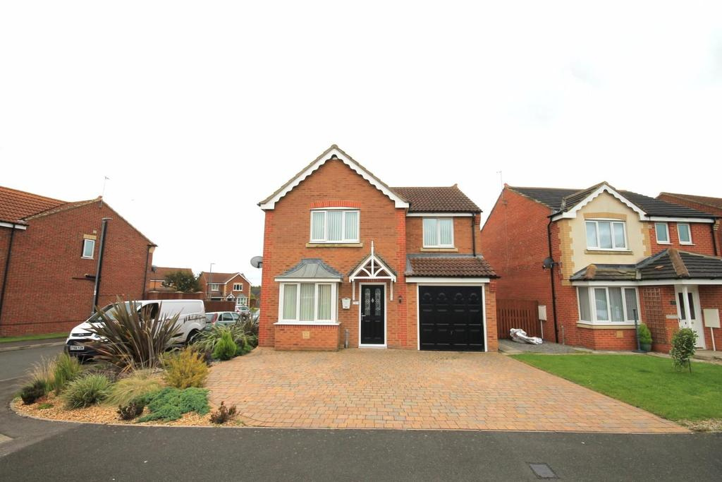4 Bedrooms Detached House for sale in Richardson Court, Willington, Crook