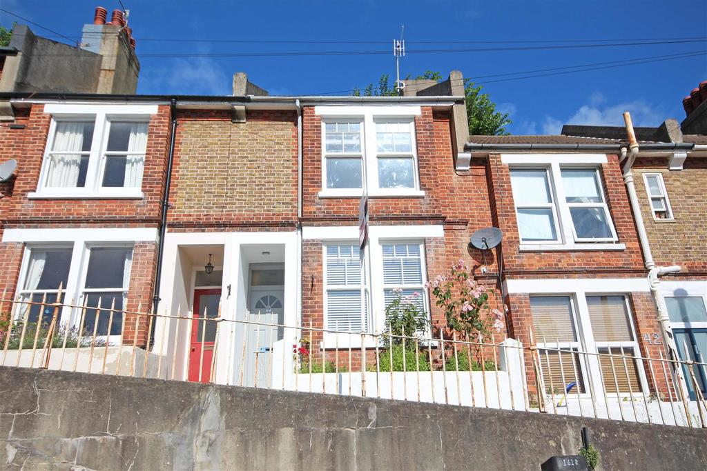 2 Bedrooms Terraced House for sale in Kingsley Road, Preston, Brighton