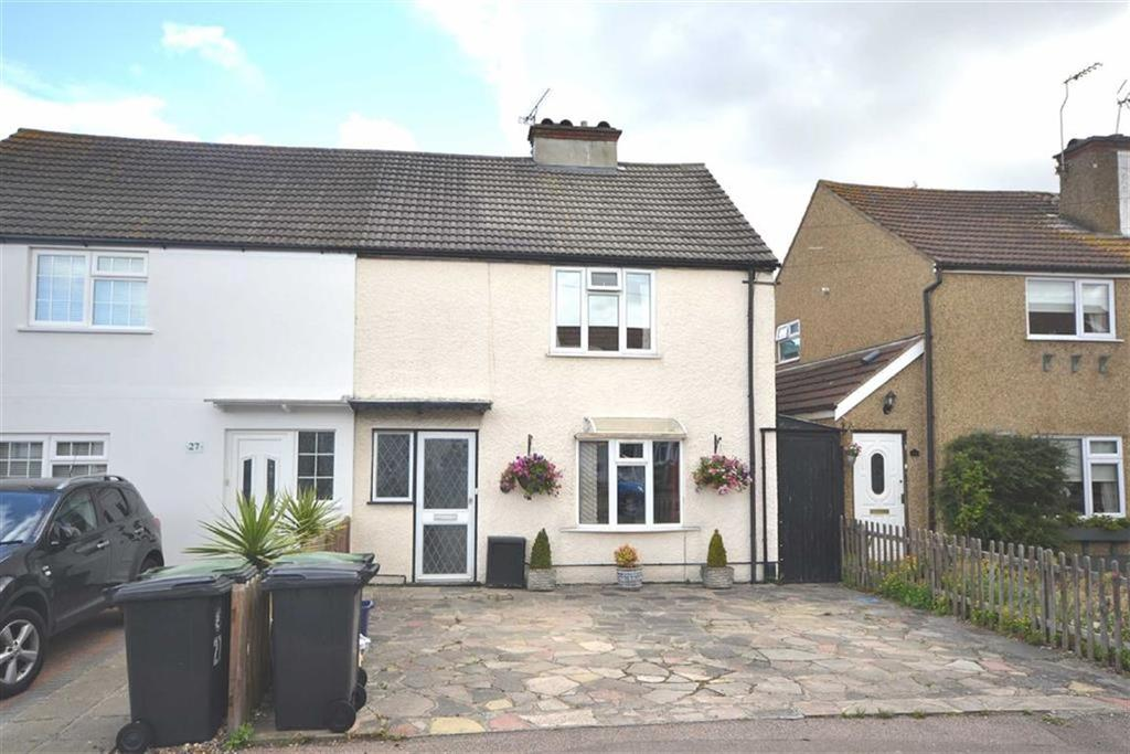 2 Bedrooms Semi Detached House for sale in Fairfield Road, Epping, Essex, CM16