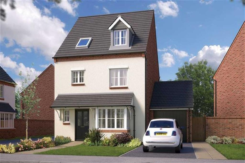 4 Bedrooms Detached House for sale in Bowbrook Meadows, Shrewsbury