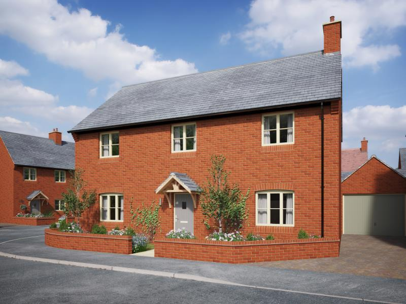 4 Bedrooms Detached House for sale in Plot 13, The Meadows, Old Stratford, Milton Keynes, Northamptonshire
