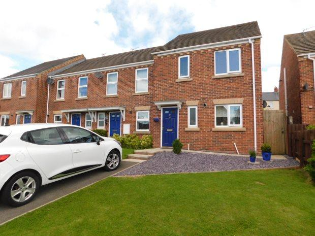 3 Bedrooms Town House for sale in ESHWOOD VIEW, USHAW MOOR, DURHAM CITY : VILLAGES WEST OF