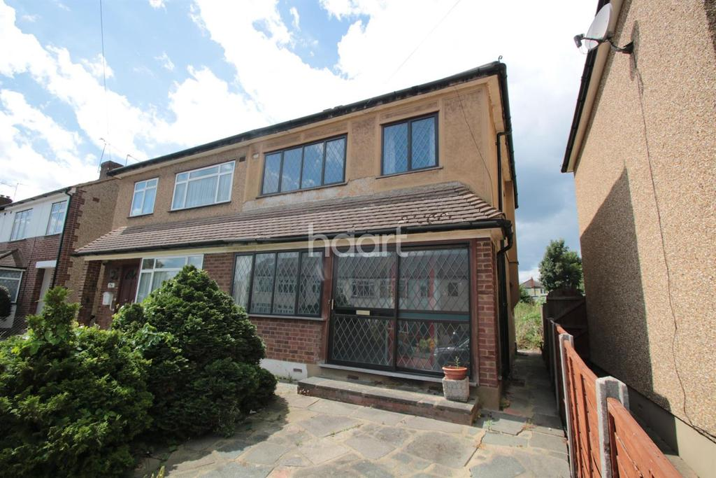 3 Bedrooms Semi Detached House for sale in Ethelburga Road, Harold Wood