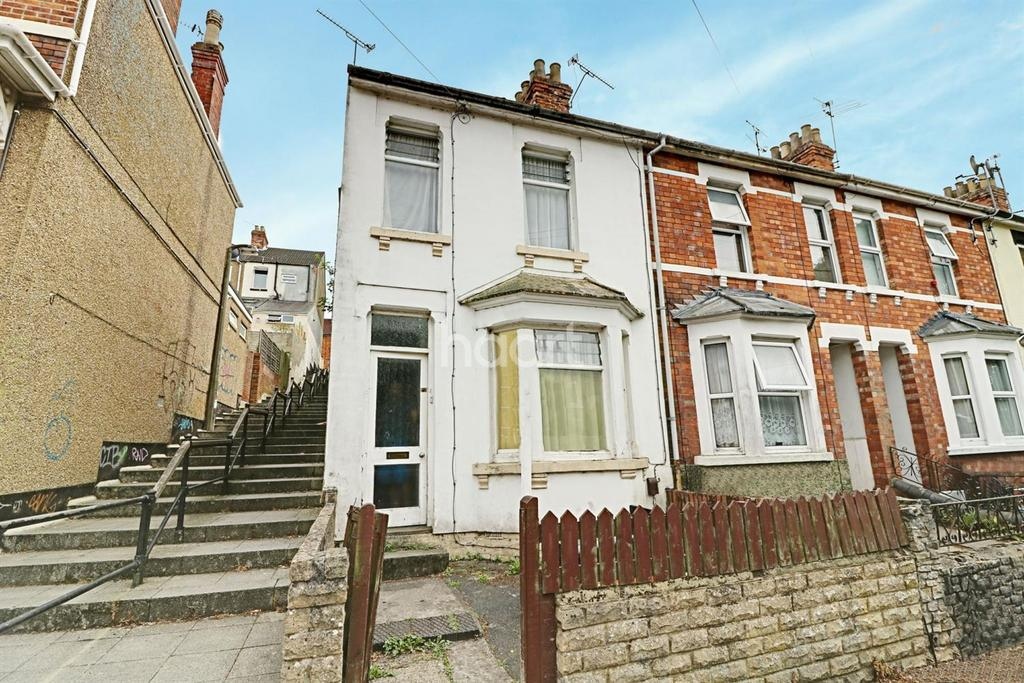 2 Bedrooms End Of Terrace House for sale in Dixon Street, Swindon, Wiltshire