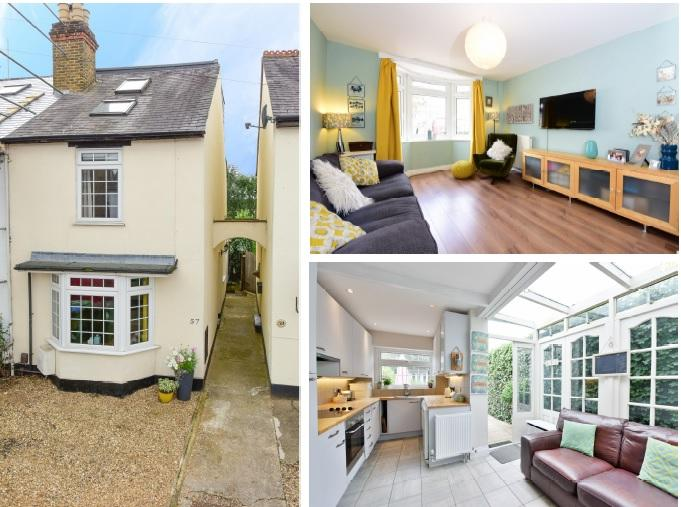 3 Bedrooms Cottage House for sale in Cambridge Road, WALTON ON THAMES KT12