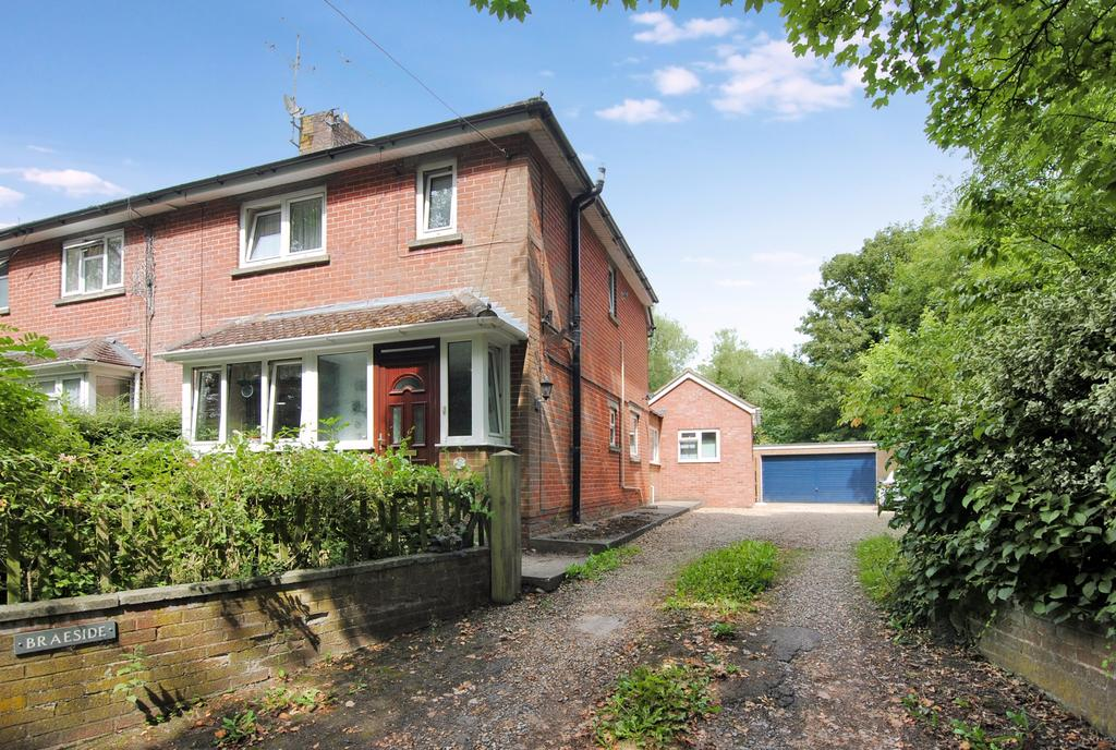 2 Bedrooms Semi Detached House for sale in Bulford Hill, Durrington, Salisbury, SP4 8DW