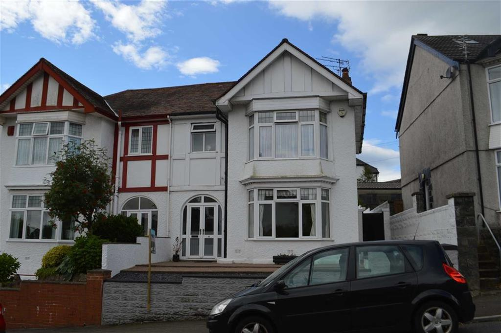 3 Bedrooms Semi Detached House for sale in Parc Wern Road, Swansea, SA2
