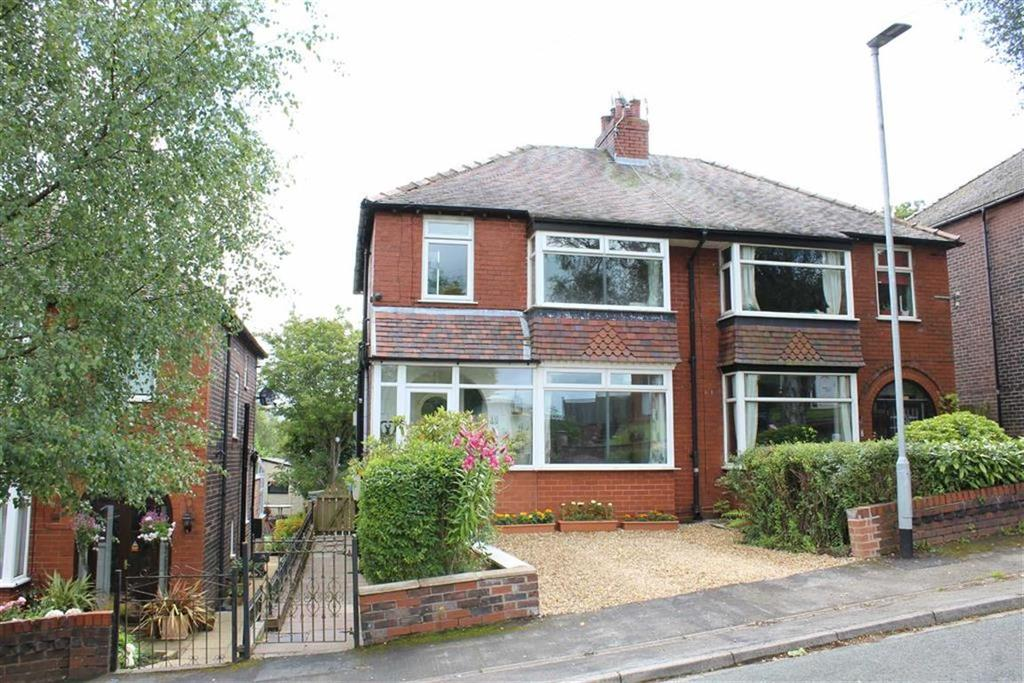 3 Bedrooms Semi Detached House for sale in Overdale Road, Disley, Stockport, Cheshire