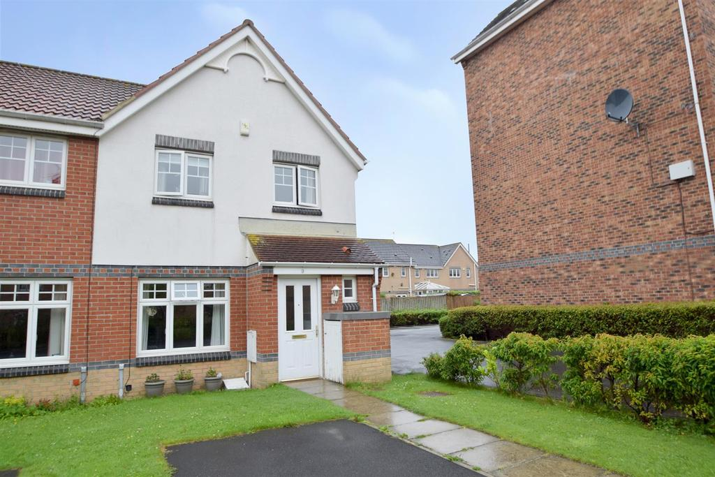 3 Bedrooms End Of Terrace House for sale in Brabourne Gardens, North Shields