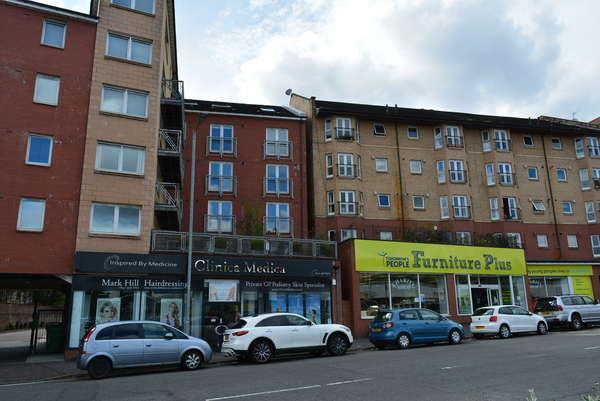 1 Bedroom Flat for sale in 2/2, 49 Crow Road, Partick, Glasgow, G11 7SH