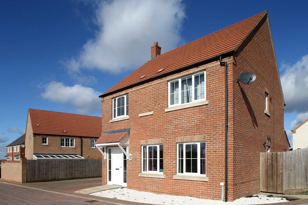 4 Bedrooms End Of Terrace House for sale in Romans Walk, Caistor, LN7