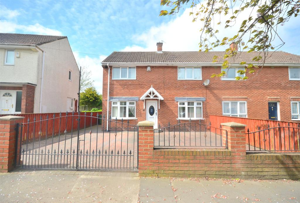 3 Bedrooms Semi Detached House for sale in Leam Lane