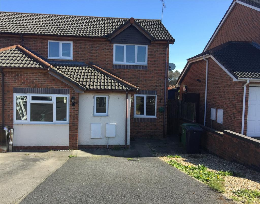 3 Bedrooms Semi Detached House for sale in Kempton Way, Llwyn Onn Park, Wrexham, LL13
