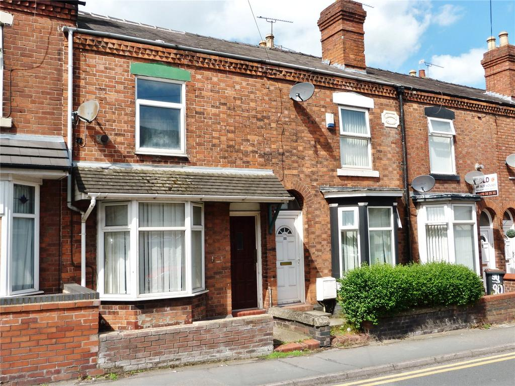 2 Bedrooms Terraced House for sale in Underwood Lane, Crewe, Cheshire, CW1