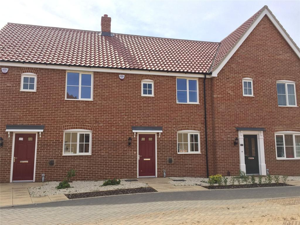 3 Bedrooms Terraced House for sale in Plot 91, Broadbeach Gardens, Stalham, Norfolk, NR12