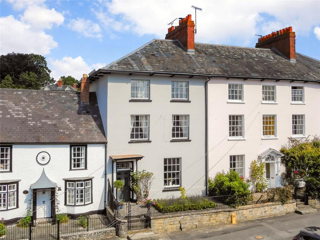 4 Bedrooms Terraced House for sale in The Square, Kington, Herefordshire