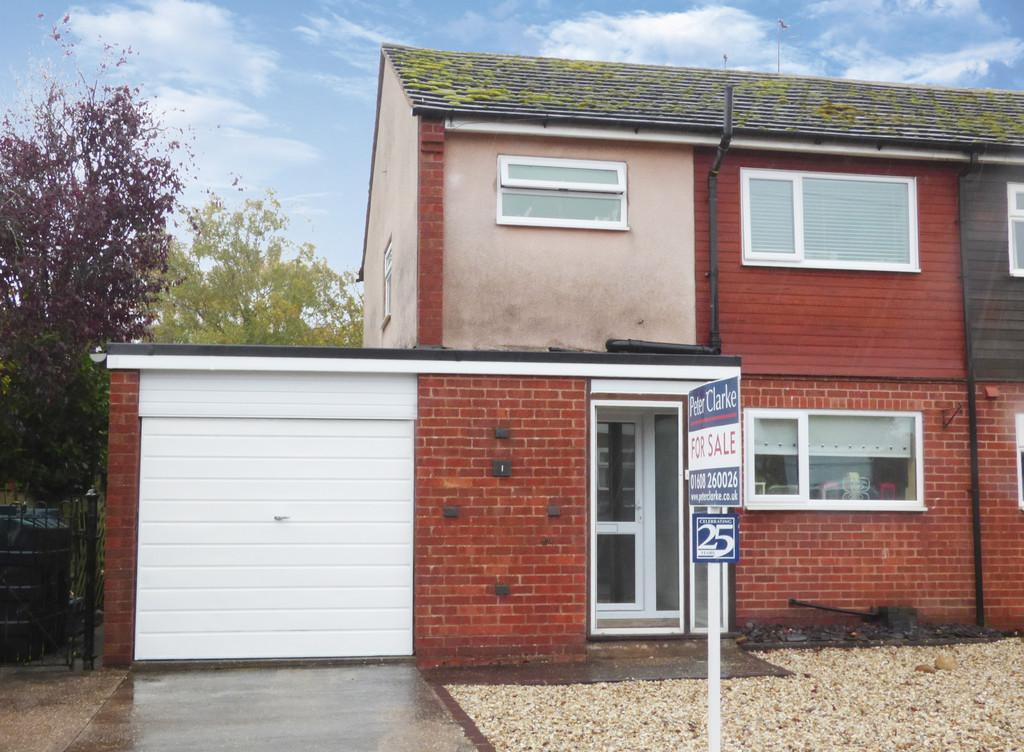 3 Bedrooms Semi Detached House for sale in Avon Close, Ettington, Stratford-Upon-Avon