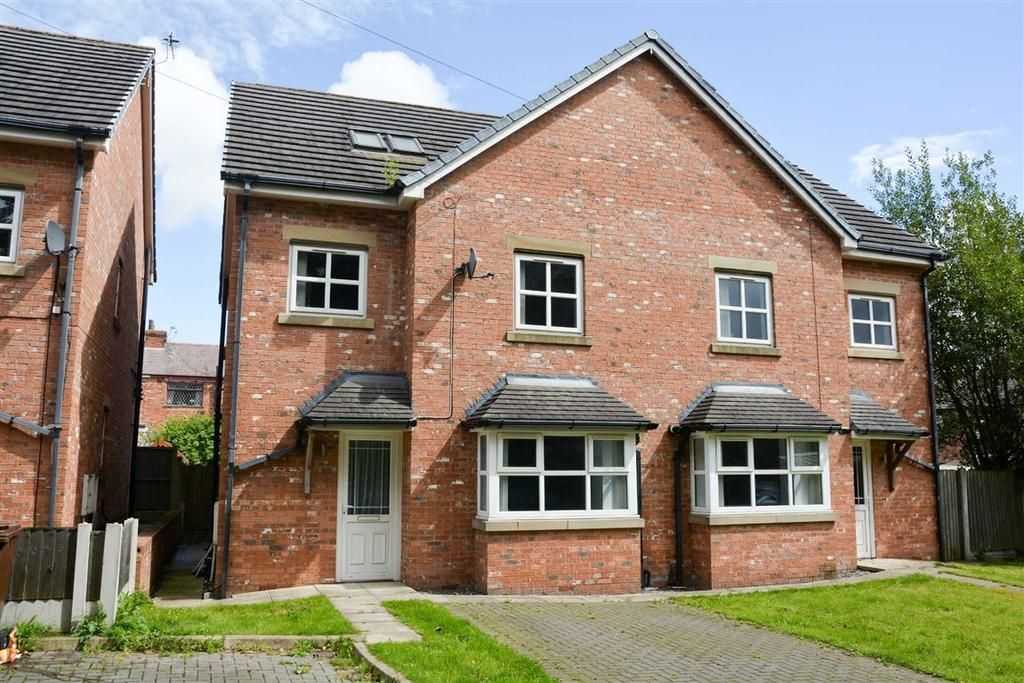 3 Bedrooms Semi Detached House for sale in Railway Street, Springfield, Wigan, WN6