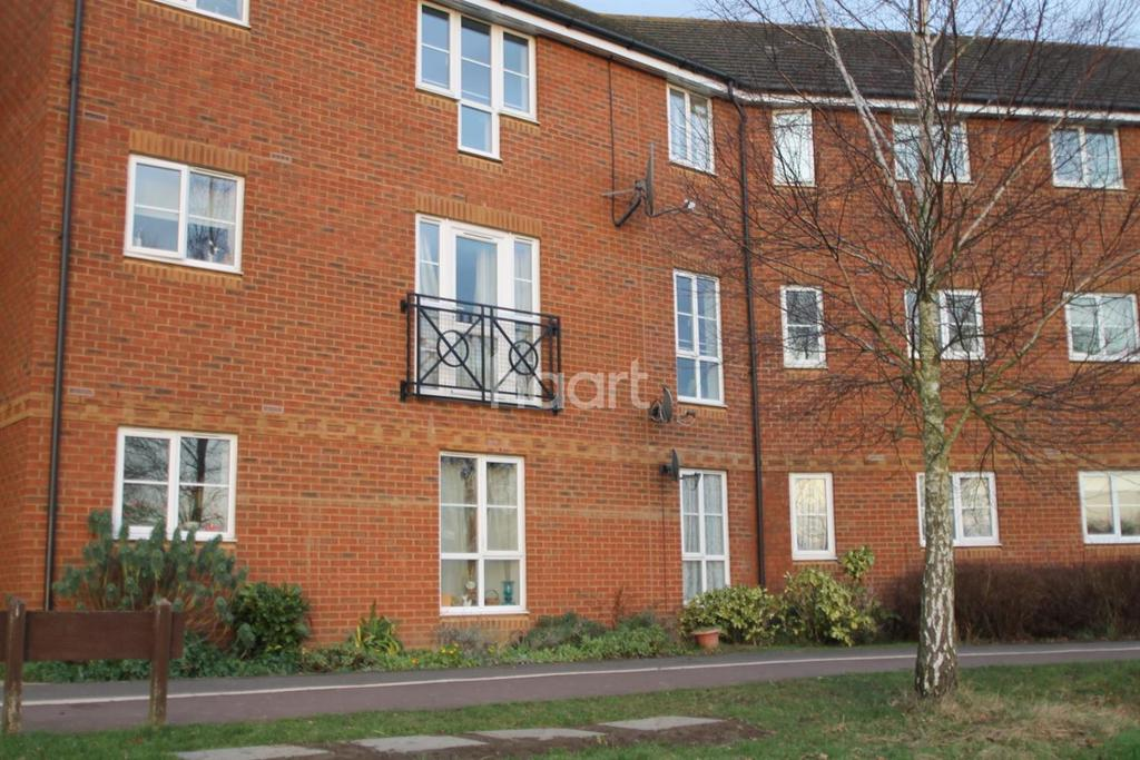 2 Bedrooms Flat for sale in Richard Hilalry Close