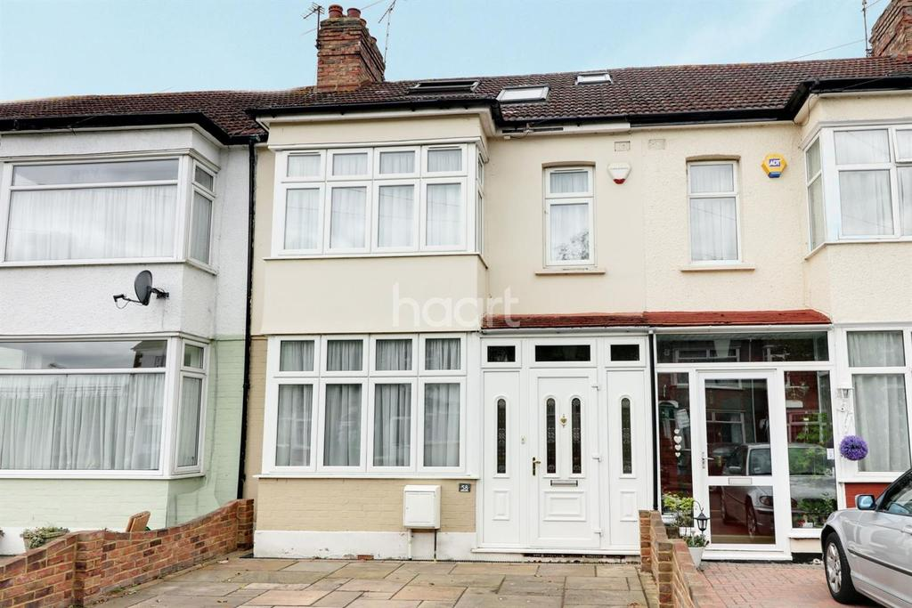 4 Bedrooms Terraced House for sale in Hazelbrouck Gardens, Hainault