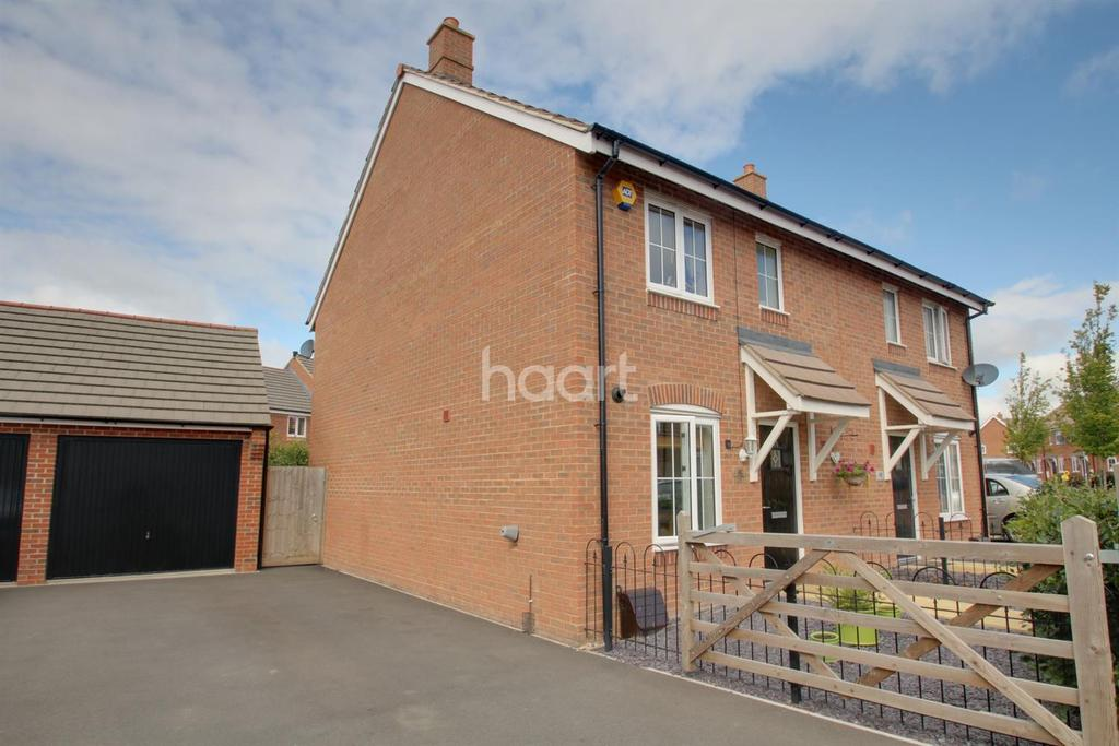 3 Bedrooms Semi Detached House for sale in The Sidings
