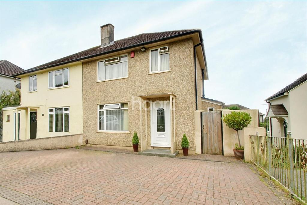 3 Bedrooms Semi Detached House for sale in Lancaster Gardens, Whitleigh