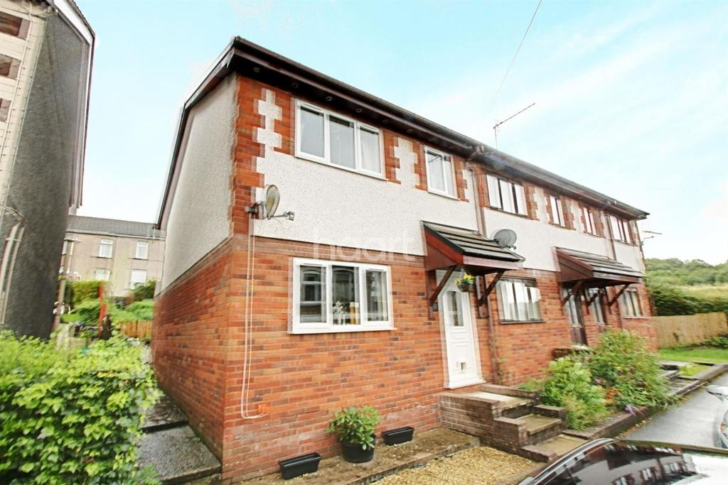3 Bedrooms End Of Terrace House for sale in Sansom Street, Risca, Newport
