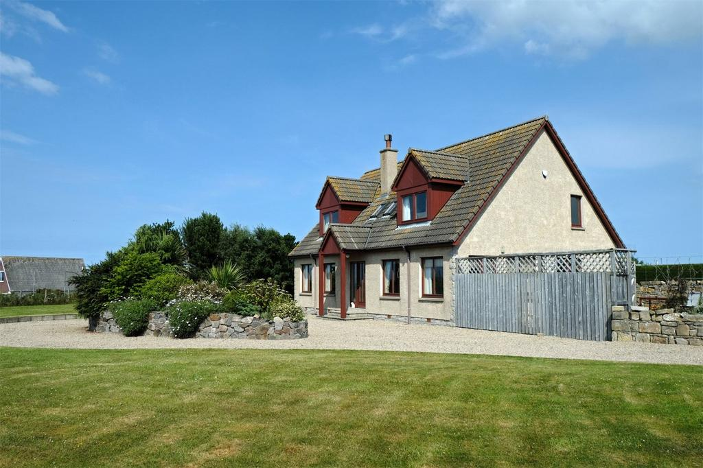 4 Bedrooms Detached House for sale in Acarsaid, North Shore, Findhorn, Forres, Moray, IV36