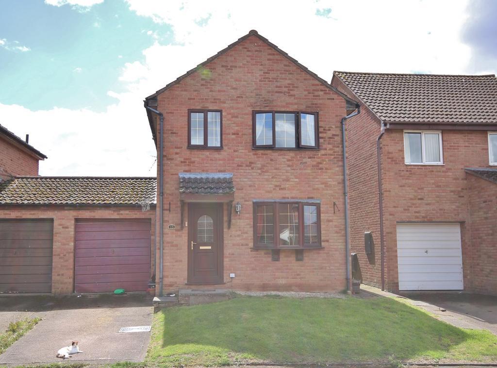 3 Bedrooms Detached House for sale in Redbrook Close, Lower Bullingham, Hereford, HR2