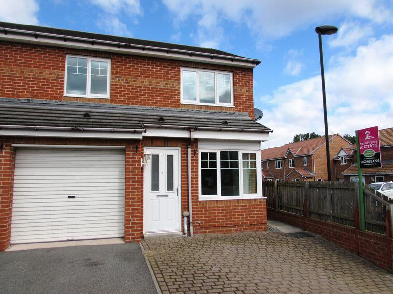 3 Bedrooms Semi Detached House for sale in Alwin Close, Wallsend - Three Bedroom Semi-Detached House