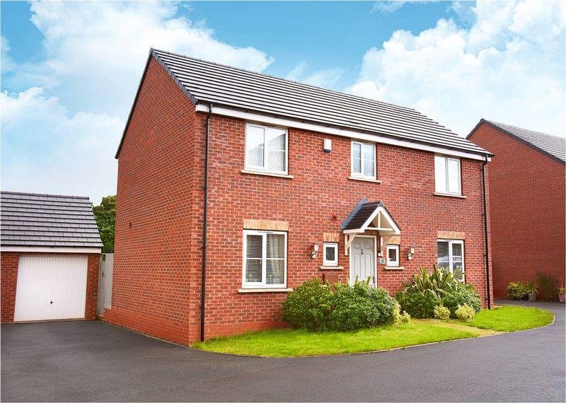 4 Bedrooms Detached House for sale in 8 Stone Drive, Shifnal, TF11 9HA