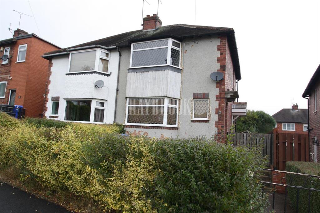 2 Bedrooms Semi Detached House for sale in Rowdale Crescent, Frecheville, S12