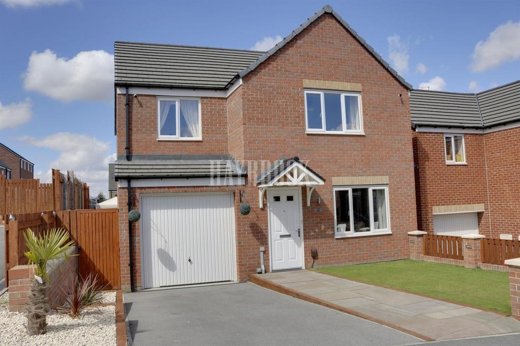 4 Bedrooms Detached House for sale in Bluebell Bank, Barnsley