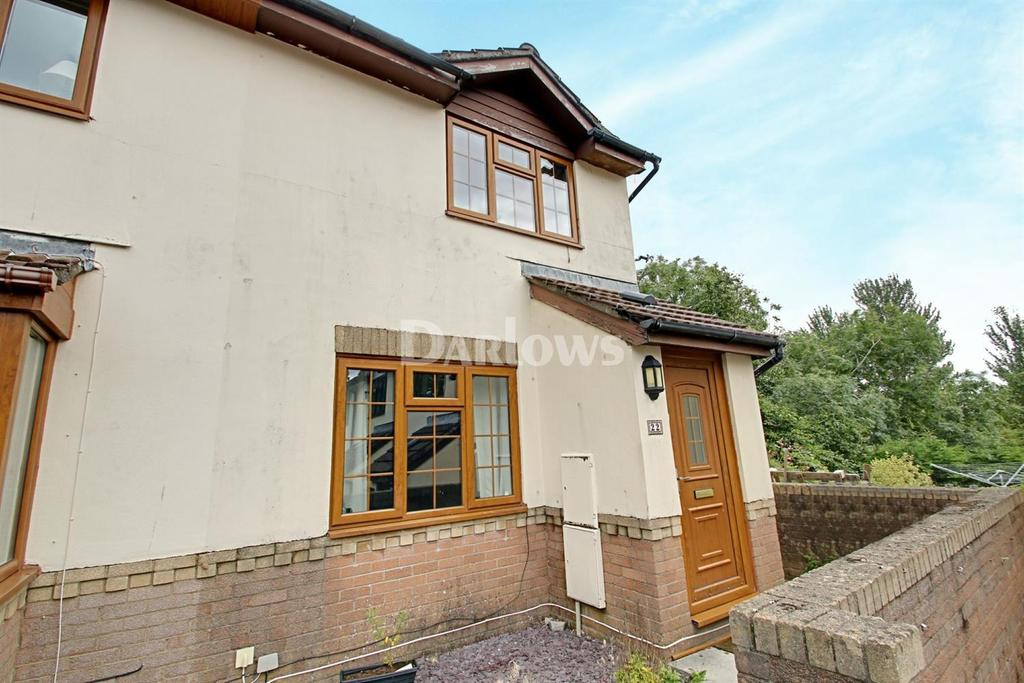 2 Bedrooms Semi Detached House for sale in Oaklands View, Greenmeadow, Cwmbran
