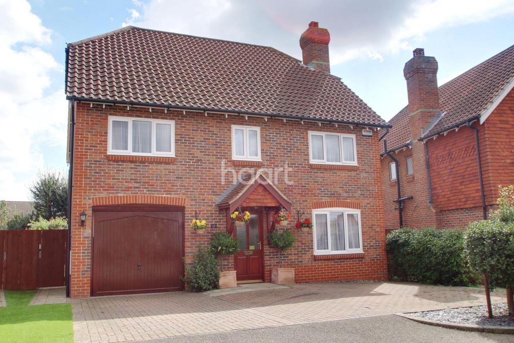 4 Bedrooms Detached House for sale in Brisley Court, Ashford, Kent