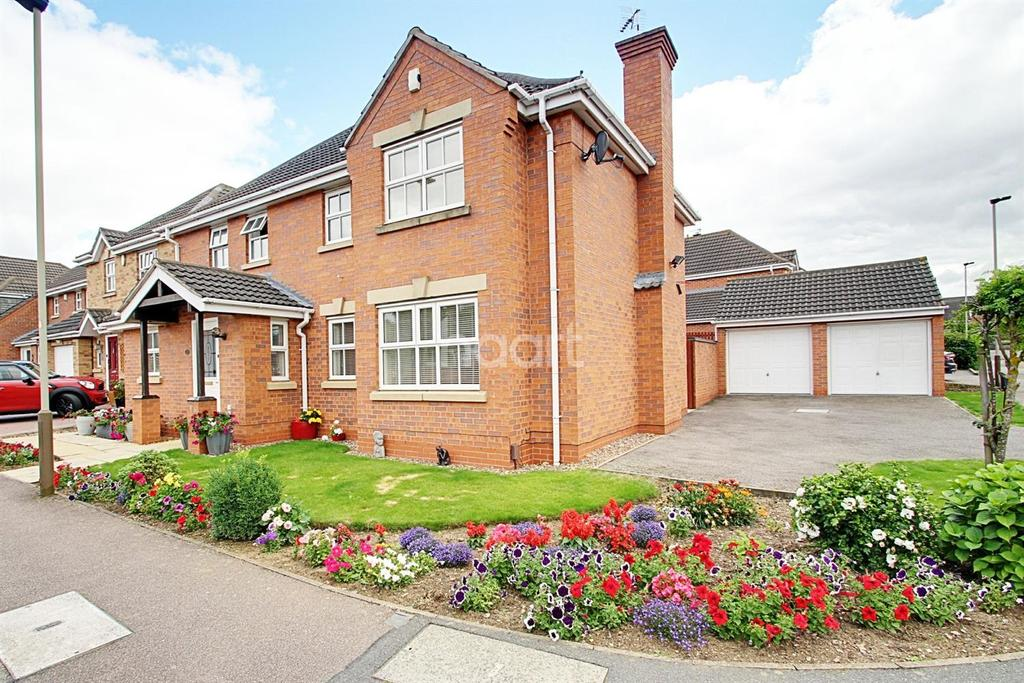 4 Bedrooms Detached House for sale in Stonecrop Road, Hamilton, Leicester