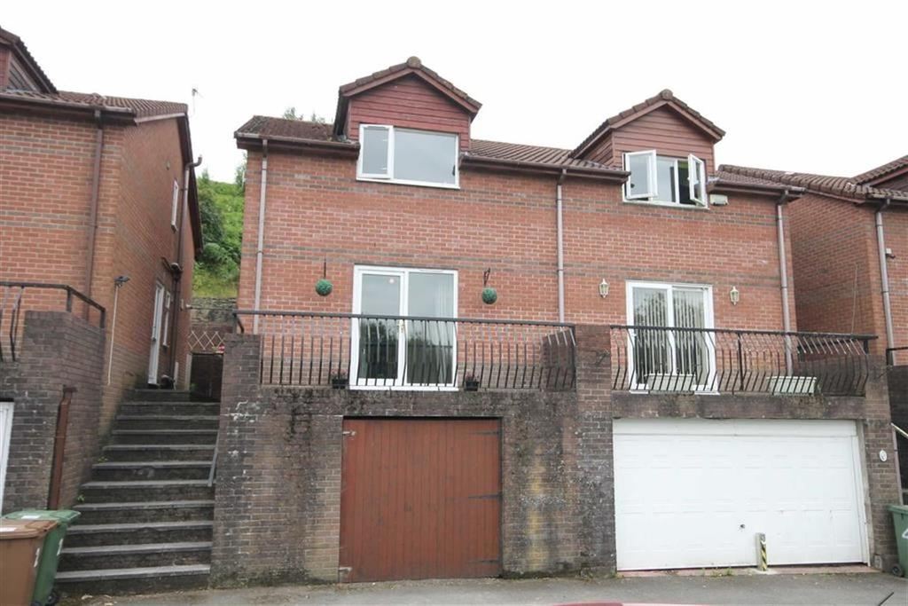 3 Bedrooms Semi Detached House for sale in Coed Y Pica, Abertridwr, CF83