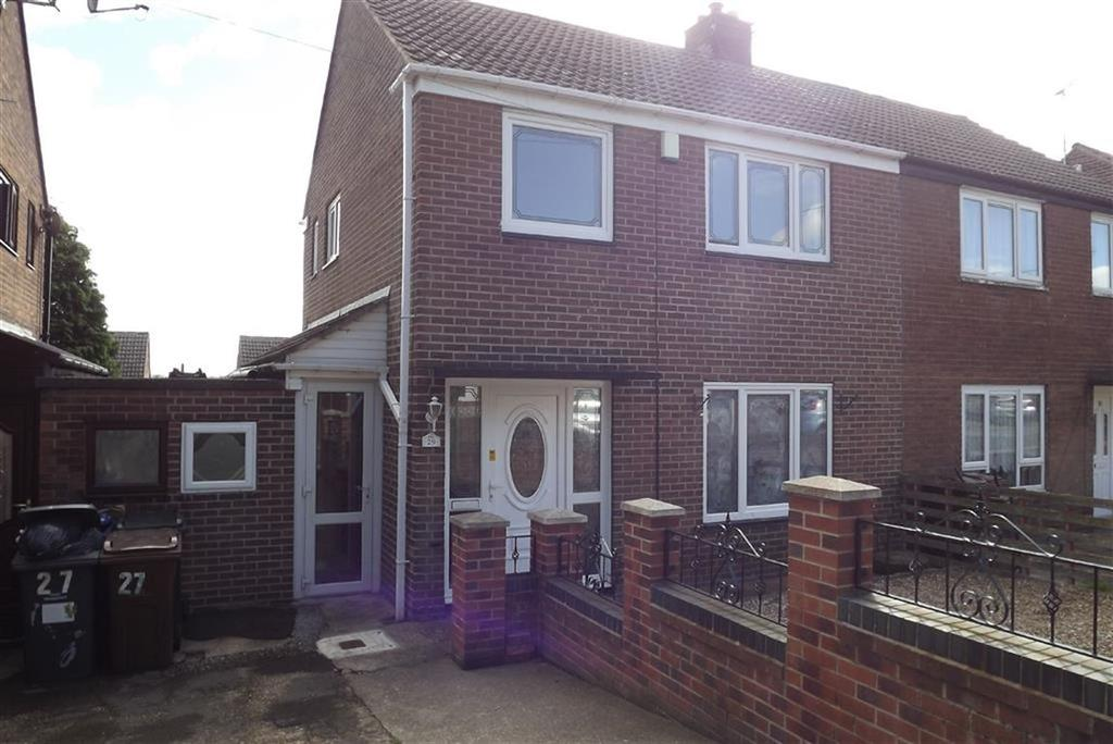 3 Bedrooms Semi Detached House for sale in Cover Drive, Darfield, Barnsley, S73