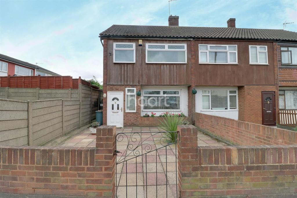 3 Bedrooms End Of Terrace House for sale in Ballards Road