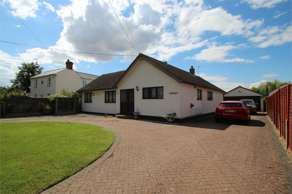3 Bedrooms Detached Bungalow for sale in Seven Star Green, Eight Ash Green, COLCHESTER, Essex