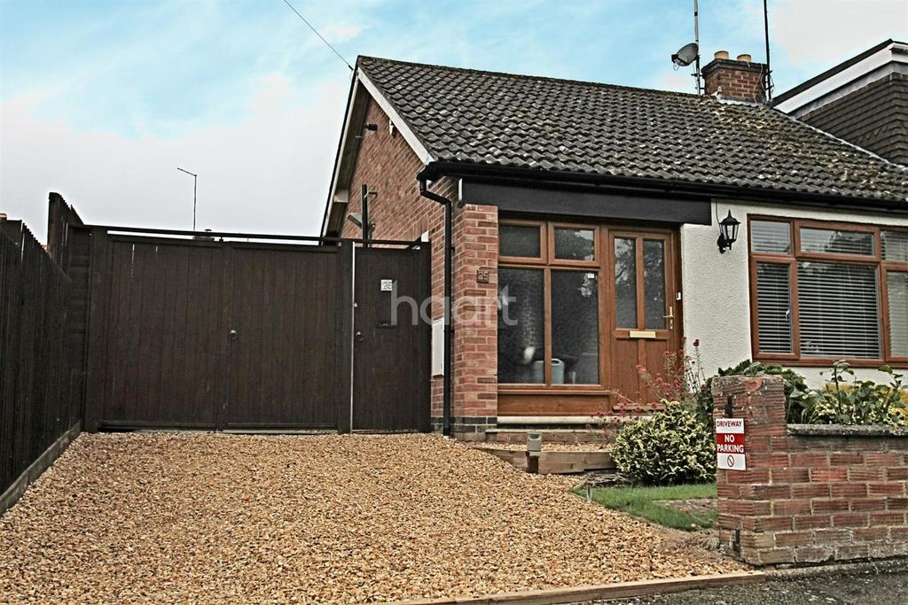 2 Bedrooms Bungalow for sale in Valley Road, Little Billing, Northampton