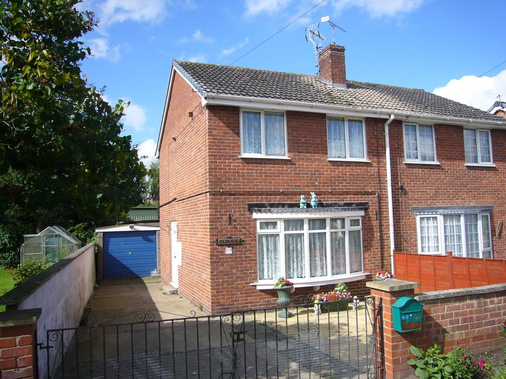 2 Bedrooms Semi Detached House for sale in High Street, West Cowick, Nr Goole, DN14 9EF