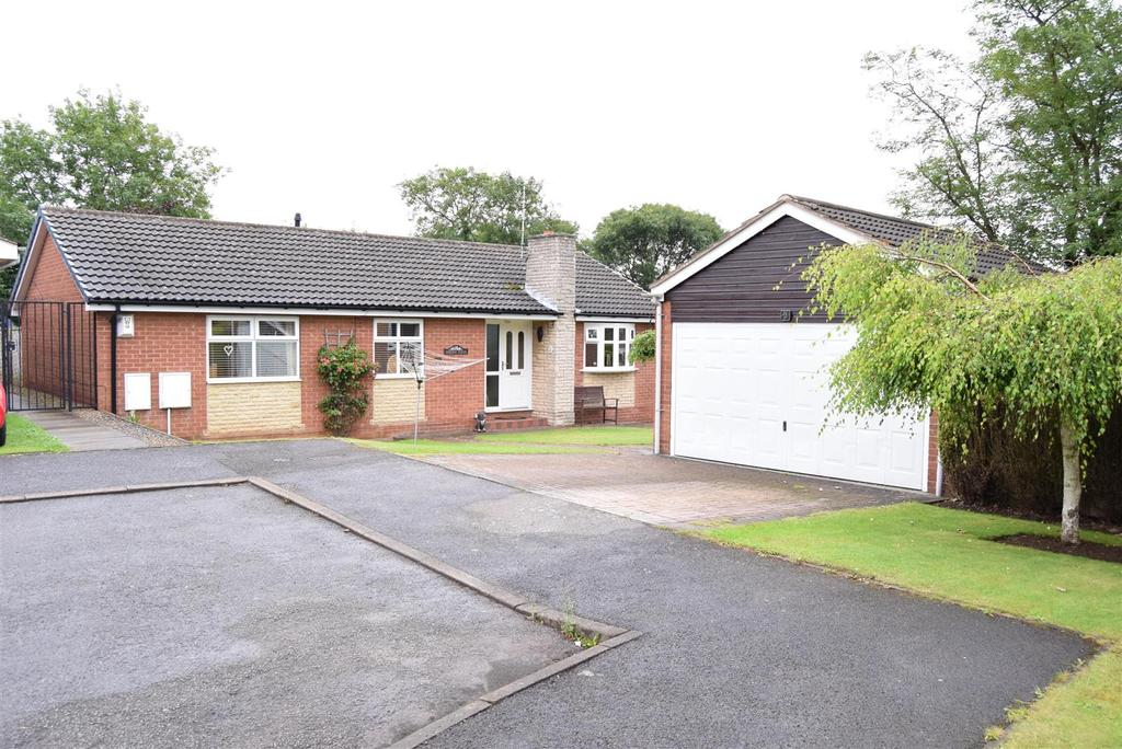 3 Bedrooms Detached Bungalow for sale in Mallard Close, Shirebrook, Mansfield